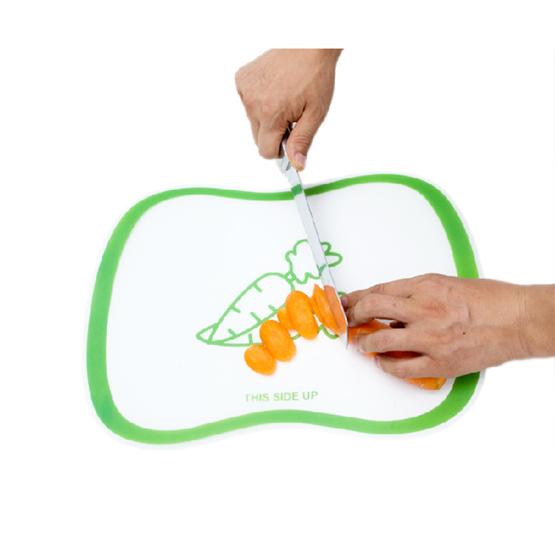 PP board size resin matte classification chopping board cut fruit plate made of transparent chopping board slip kitchen supplies