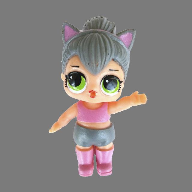Fashion Interactive Colorful Plastic Mini Doll