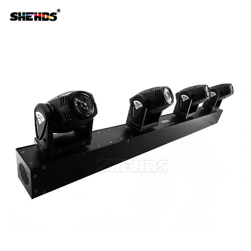 Us 257 6 8 Off New Arrival 4x10w Head Led Beam Moving Lighting Bar Dj Lights Shehds Stage In Effect From