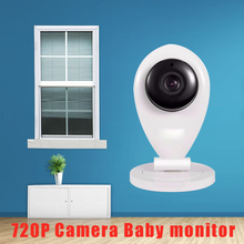 Security protection 1.0MP Mini Portable IP camera HD 720P support IOS Android cellphone control Surveillance Video baby monitor