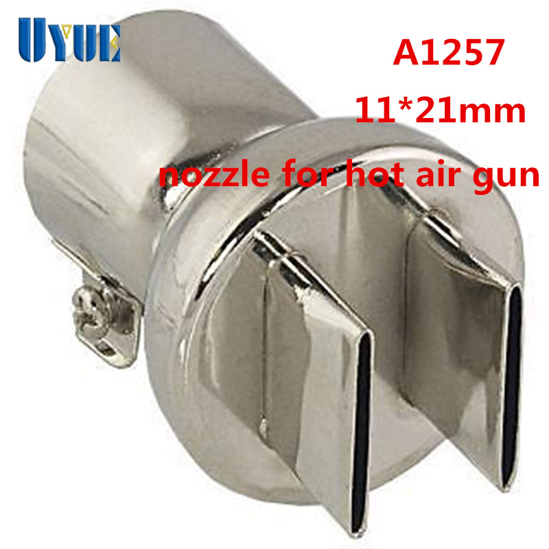 New 1Pcs Nozzle Tips For 850 852D 898 858 BGA Soldering Iron Station Hot Air Gun Nozzles A1257 11*21mm Stainless Steel цены