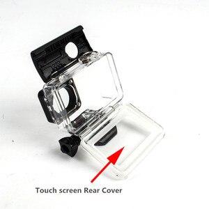 Image 4 - 터치 스크린 방수 케이스 수중 35m 다이빙 보호 쉘 하우징 Xiaomi 이순신 4K 2 II 액션 카메라 액세서리