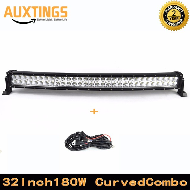 Waterproof 180w curved led light bar 32 inch combo beam led waterproof 180w curved led light bar 32 inch combo beam led offroad light bar aloadofball Choice Image