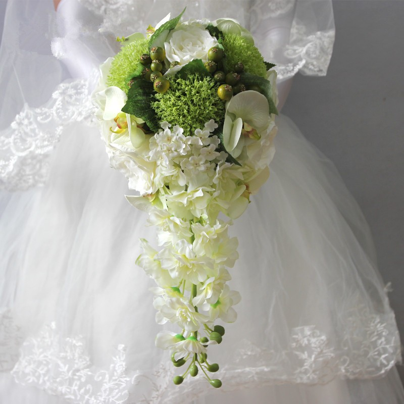 wedding flowers bridal bouquets roze1