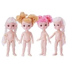 13 Joint BJD Doll Original Doll Children Toy 1/12 Girls Dress Up Dolls Toy with 3D Eye Kids Birthday Gift Baby Toys for Girl nicery 16inch 40cm bjd ball joint doll girl doll full high vinyl christmas toy gift for children white coat little panda doll