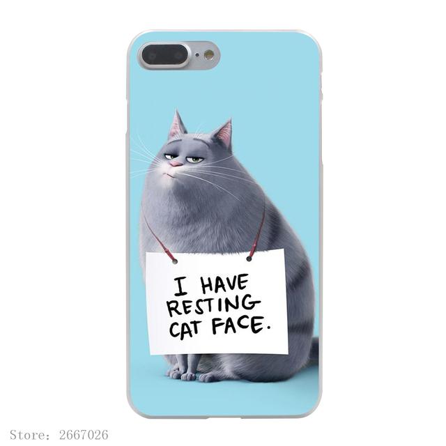 The Secret Life of Pets Hard Transparent Cover Case for iPhone 7 7 Plus 6 6S Plus 5 5S SE 5C 4 4S