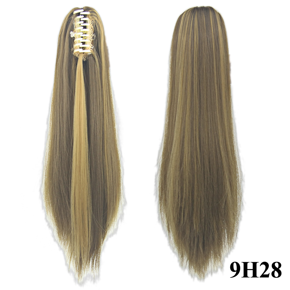 synthetic hair ponytails
