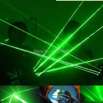 Christmas laser gloves 4 pcs laser 532nm 80mw Green Gloves stage laser show led laser gloves