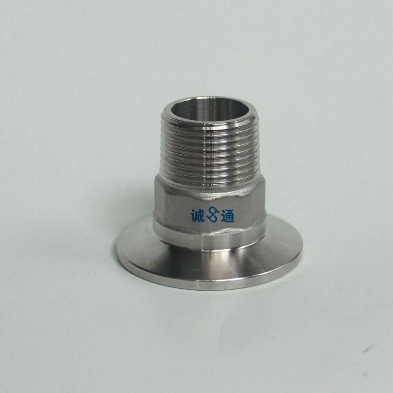 1/2 ''-2'' Braçadeira Tri x Rosca Macho BSPT conexões, Aço inoxidável 304