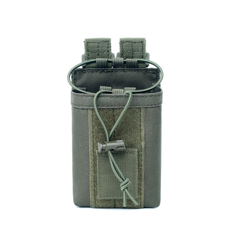 Image 4 - 1000D Nylon Outdoor Tactical Pouch Sports Pendant Military Molle  Radio Walkie Talkie Holder Bag Hunting Magazine Pouches Pocket-in Pouches from Sports & Entertainment