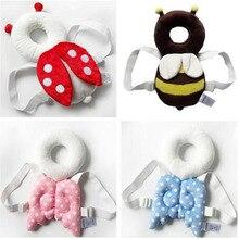 Детская подушка для защиты головы, подголовник для малыша, подушка для шеи, милые крылья для кормления, защита от падения