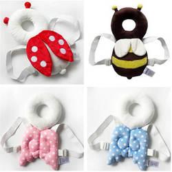 Подушка для защиты головы малыша, подушка для подголовника, милые крылья для кормления, защита от падения, подушка для защиты ребенка