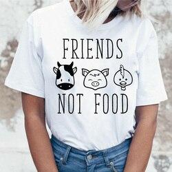 Wegańskie zapisać pszczoły t koszula kobiety koszulka tshirt kobiety graficzne top tee koszule koreański kawaii harajuku 2019 ulzzang nowe kobiet 6