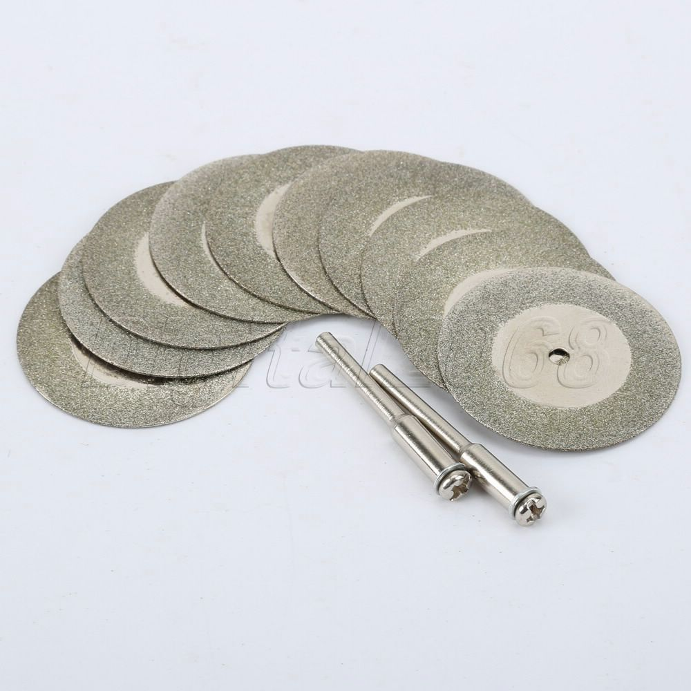Nowy 10 sztuk 35mm MINI Kamień Jadeit Diamentowa tarcza tnąca Fit - Akcesoria do elektronarzędzi - Zdjęcie 3