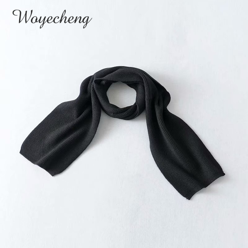 Woyecheng 2018New Style Autumn Winter Fashionable Pure Color Leisure Warm And Elegant Scarf Women's Clothing Accessories NM-1278
