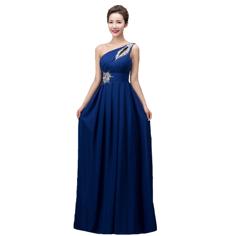 Long Chiffon Bridesmaid Dresses Promotion-Shop for Promotional ...