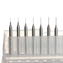 7pcs 0.2mm to 0.5mm Nozzle Cleaning 0.2/0.25/0.3/0.35/0.4/0.45/0.5mm Drill Bits with case for Reprap 3D Printer Kit