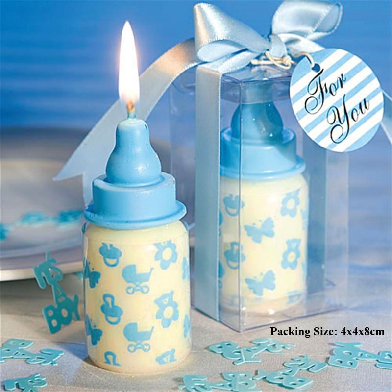 baby feeding bottle candle birthday party supplies cake decorating children kids boy