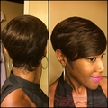 Горячая #2 #4 27 шт. короткие волосы переплетения необработанные человеческие волосы расширение прямой рельефное плетение волос с бесплатным закрытия и сна cap