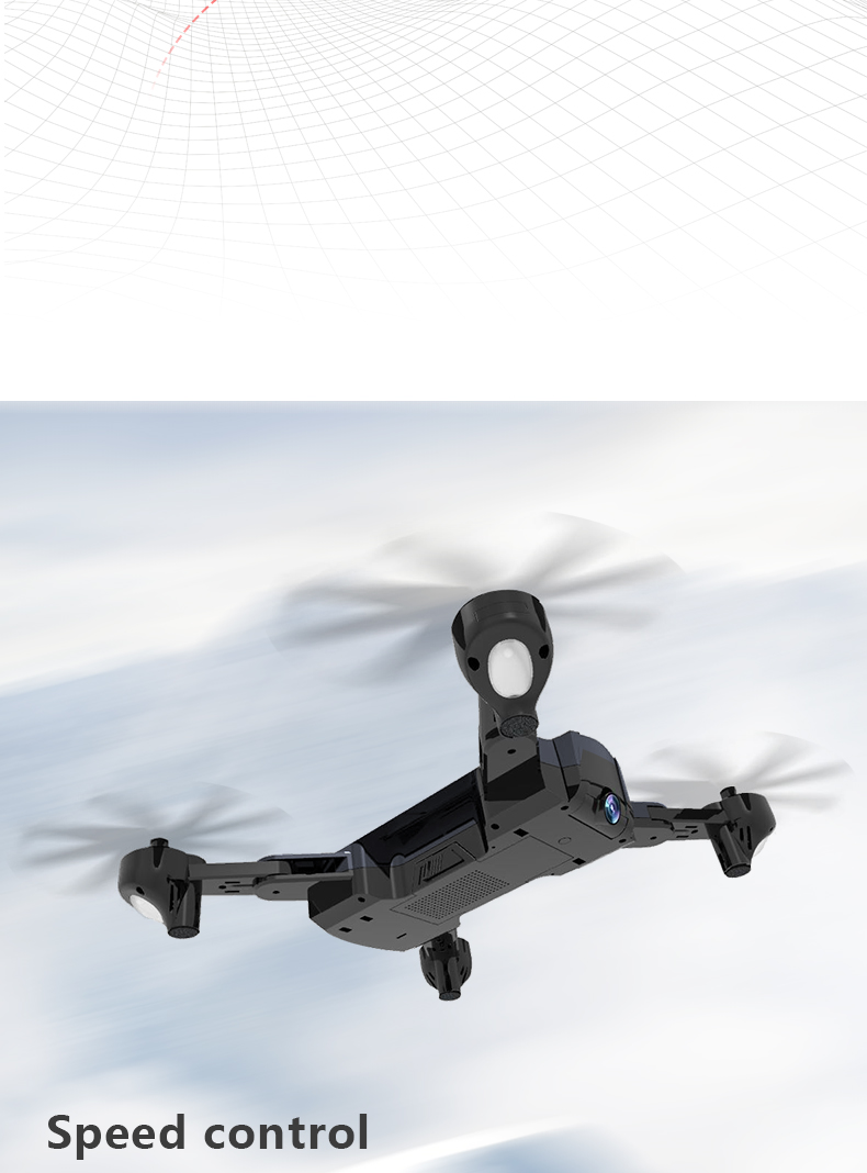 F196 RC Drone With Camera 2MP HD Quadrocopter Altitude Hold Optical Flow Positioning Foldable RC Helicopter Dron VS SG900 XS812 11