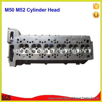Engine parts Bare M50 M52 Cylinder head for BMMW 325/525i/525ix 2494cc
