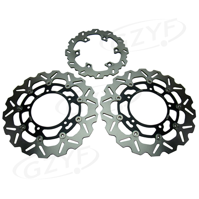 Motorcycle Front Rear Brake Disc Rotors Assembly For Suzuki