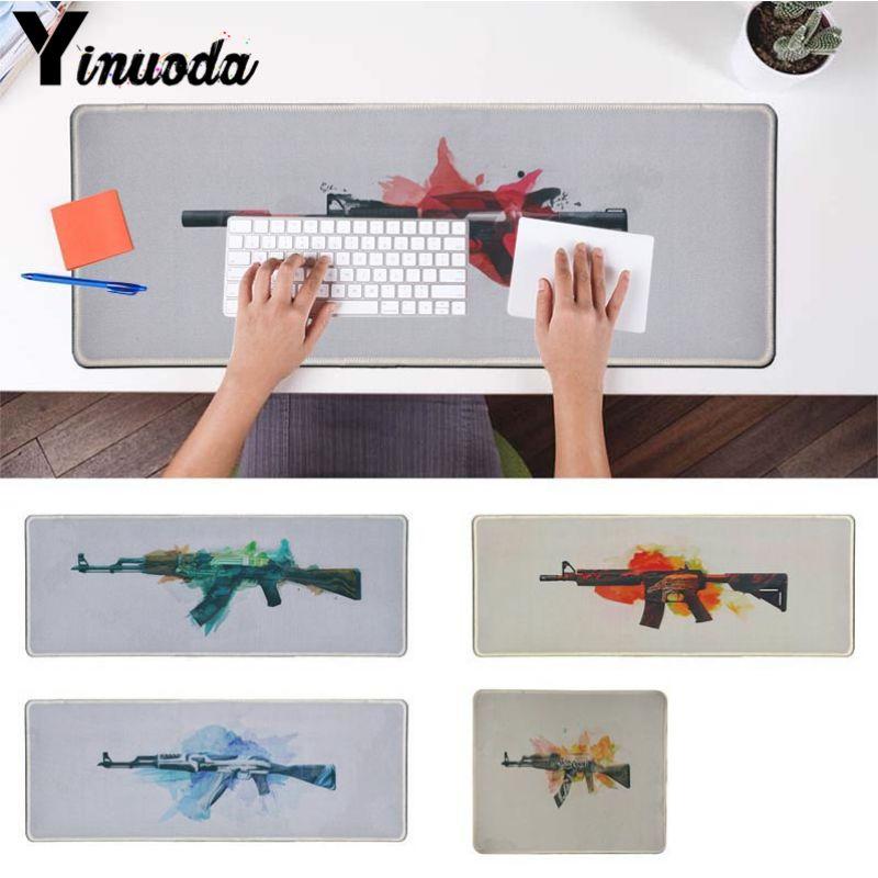 Yinuoda мой любимый AK47 офисных мышей геймер мягкие Мышь Pad Размеры для 18x22 см 20x25 см 25x29 см 30x90 см 40x90 см