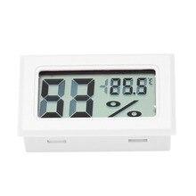 Мини цифровой ЖК-дисплей Крытый удобный датчик температуры измеритель влажности термометр гигрометр датчик Метеостанция монитор