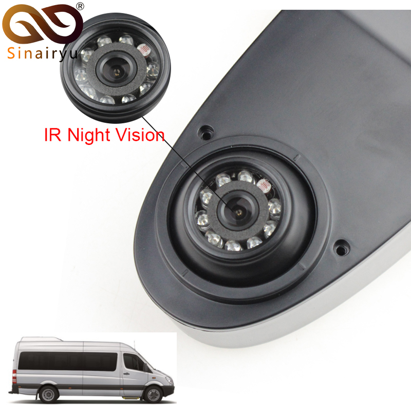 Specially for Mercedes Benz Sprinter Vari Viano Vito VW Crafter Ford Fiat CCD Reverse Rear View Camera Waterproof A Pair crafter castaway a n