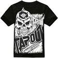 Fashion Brand Men Casual Clothing men Hip Hop Baggy Loose Skeleton Dance Short Sleeve T Shirt Plus Size XXXL 02