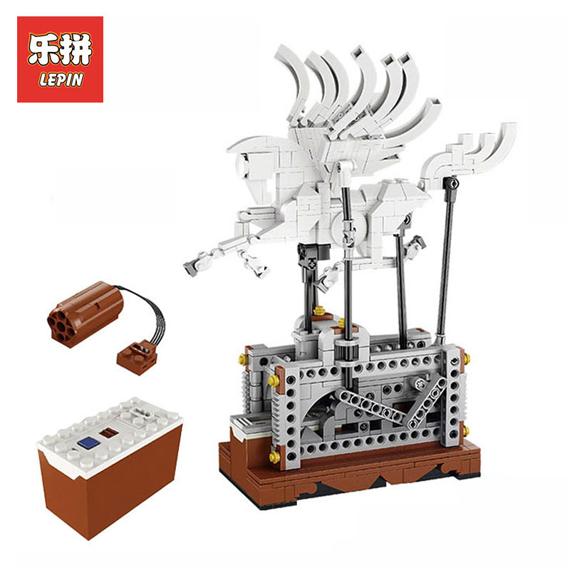 In Stock Lepin Sets 23015 485Pcs Technic MOC Figures Pegasus Automaton Mechanical Model Building Kits Blocks Bricks Kid Toy Gift in stock lepin 23015 485pcs science and technology education toys educational building blocks set classic pegasus toys gifts