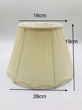 E27 Lace fabric beige lampshade nordic  Lamp shade for table lamp modern lamp cover for home decoration table lamp shade cover floor lamp cover shade fabric lampshade light cover