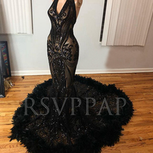 RSVPPAP Long Elegant Prom Dresses 2019 Mermaid Dress With
