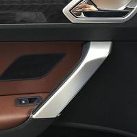 For Touran L 2016 2017 2018 ABS Matte Car inside Door Handrail Handshake body Frame decoration Cover Trim accessories 4pcs