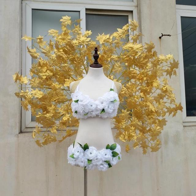 Ladies nice wedding shooting props stage show accessories props ladies nice wedding shooting props stage show accessories props gold leaf angel wings room decorations junglespirit Choice Image