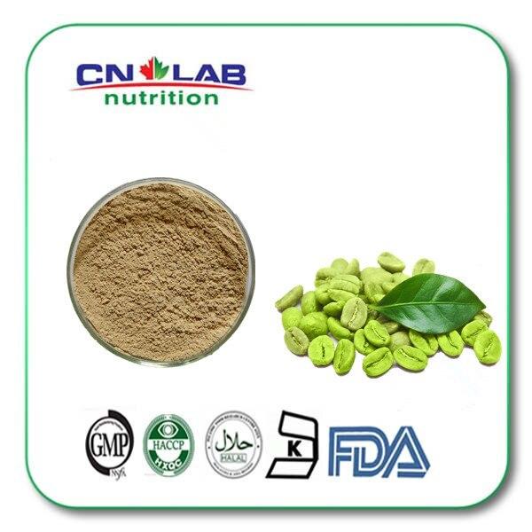Free shipping 100g organic green coffee bean extract powder Chlorogenic Acid 65% malaysia imported instant white coffee 360 g hazelnut taste triad instant coffee powder free shipping