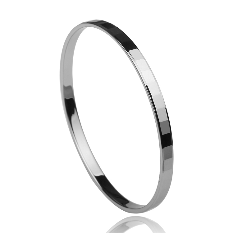 Mirror Polished Jewelry New Fashion Tungsten Carbide Men S Bracelet Bangle Width 6mm Best Gift In Bangles From Accessories On Aliexpress