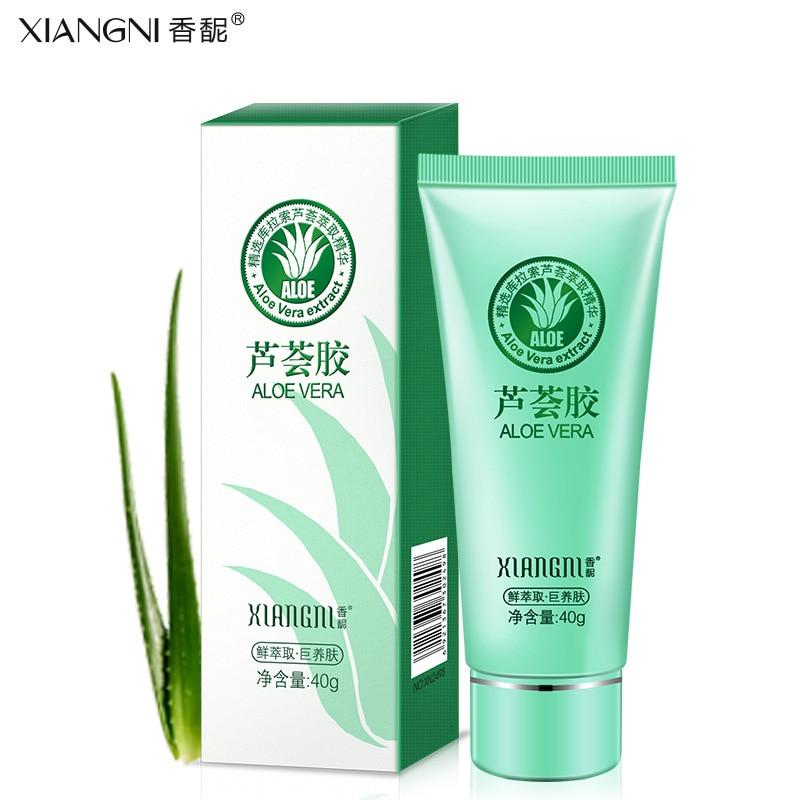 aloe vera gel for acne treatment