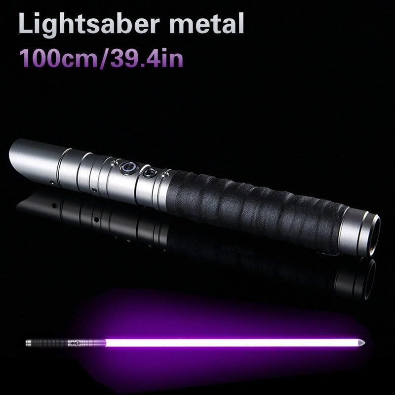 Étoile chaude guerre Cosplay 100cm sabre laser épée clignotant Luke électronique allumer jouet ciel lumière sabre jouet anniversaire cadeaux de noël