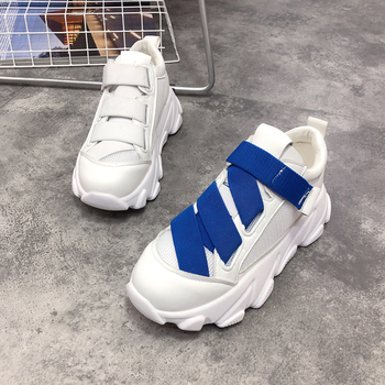 Summer new fashion mesh lace-up casual shoes comfortable breathable travel shoes women.
