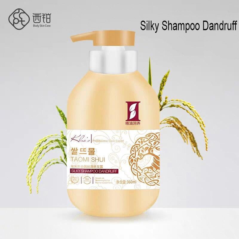 360ML Anti Dandruff Itching Shampoo Balancing Oil Control Nourishing Professional Shampoo Hair Care серум за растеж на мигли
