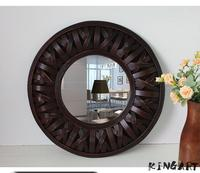 Wall Mirror Hanging Wall Mirror Mural Retro Mirror For Living Room Decoration Craft