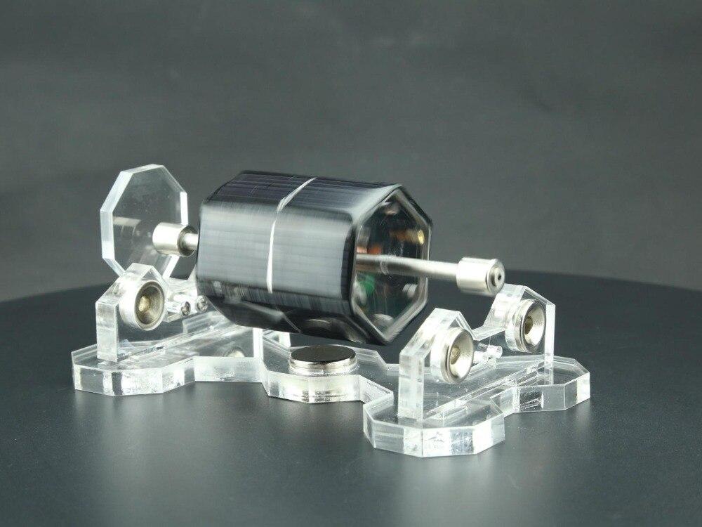 Solar Mendocino Motor Magnetic Levitation Educational Toy Physicsfun solarmotor solarcell mendocinomotor maglev magnetic