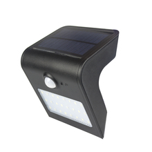 3 modes Button type 24leds Sensor 450LM LED Solar lamp Outdoor IP65 Waterproof 3.7V built-in battery energy saving Wall