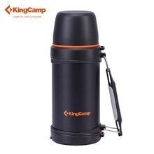 KingCamp 750 ML Botella Deportiva de Viaje Camping Deportes Ciclismo Riding Botella de Agua Olla de Aislamiento de Doble tapa