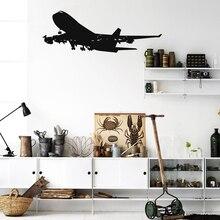 Реалистичные авиационные Наклейки на стены, съемные виниловые наклейки на стену для дома, детской комнаты и гостиной
