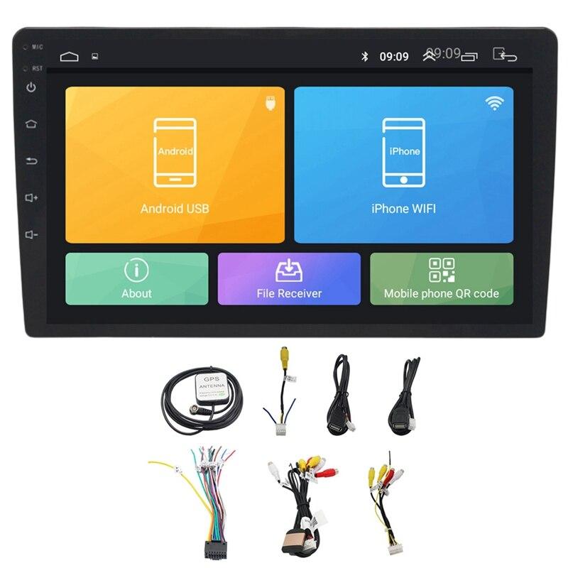 10.1 pouces Android 8.1 universel lecteur Radio de voiture Gps Navigation Wifi Bluetooth Mp5 lecteur