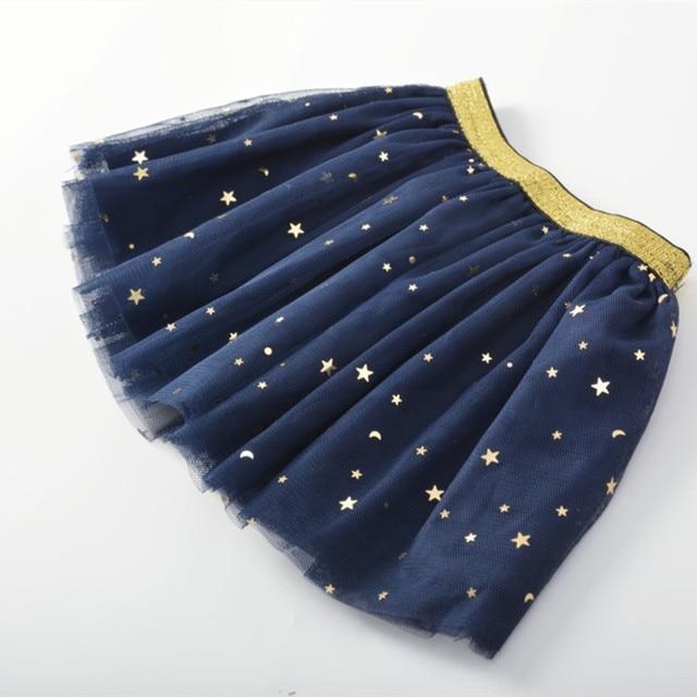 Baby Girl's Skirt with Glitter Stars 2