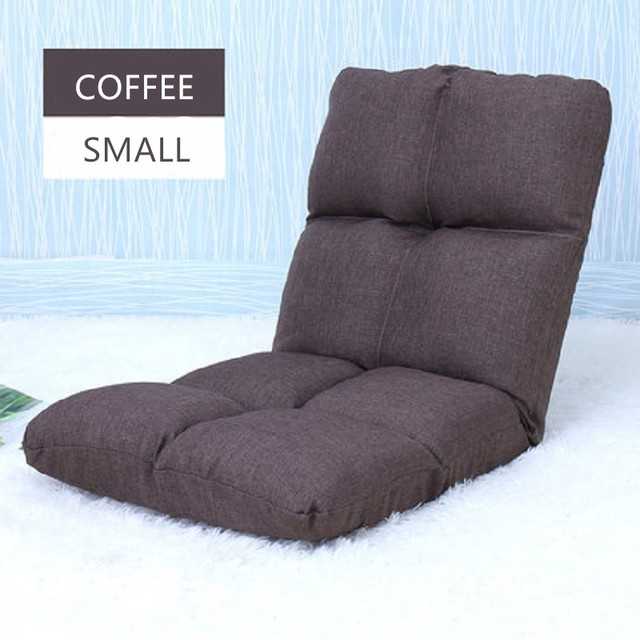 Us 19 9 Louis Fashion Tatami Lazy Sofa Single Bedroom Float Window Floding Dormitory Bed Chair Mini Floor In Bean Bag Sofas From Furniture