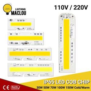 LED Cob Chip Lamp 110V 220V 30W 50W 70W 100W 150W LED Chip ip65 Smart IC DIY High Power LED Floodlight Spotlight Lighting Lamp